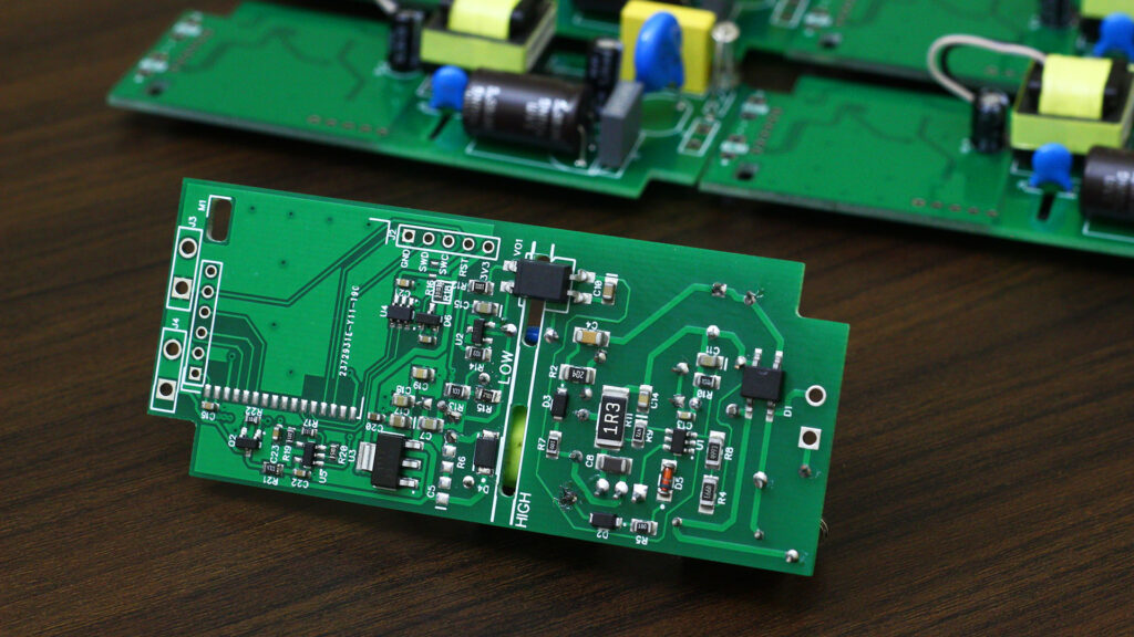 custom mains smps power supply design PCB ESP32